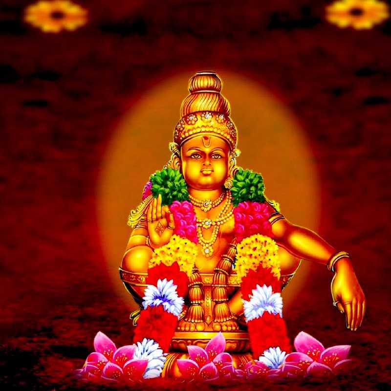 Ayyappan Wallpaper Hd - Lord Ayyappa - HD Wallpaper