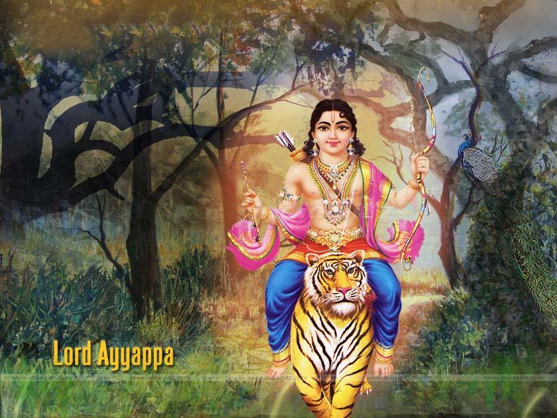 Lord Swamiye Saranam Ayyappa - HD Wallpaper