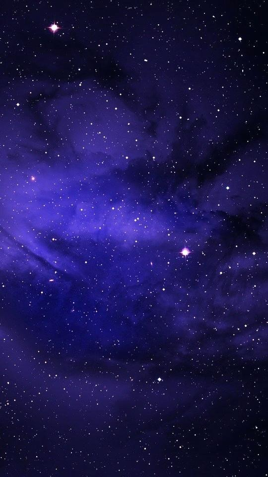 Blue Night Sky Wallpaper Dark Blue Night Sky Wallpaper Galaxy Wallpaper 4k Iphone X 540x960 Wallpaper Teahub Io