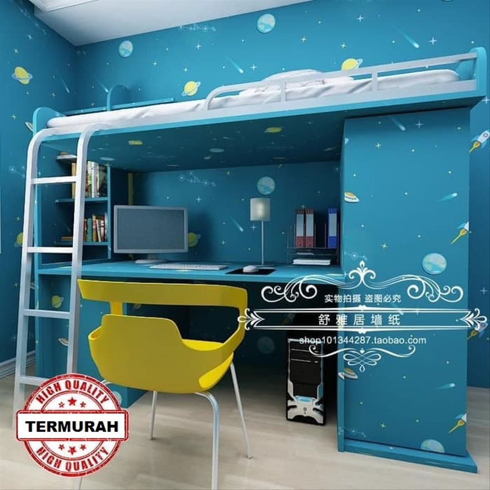 Wallpaper Dinding Kamar Anak Dekorasi Rumah Hiasan - Dinding Stiker Dinding Kamar - HD Wallpaper