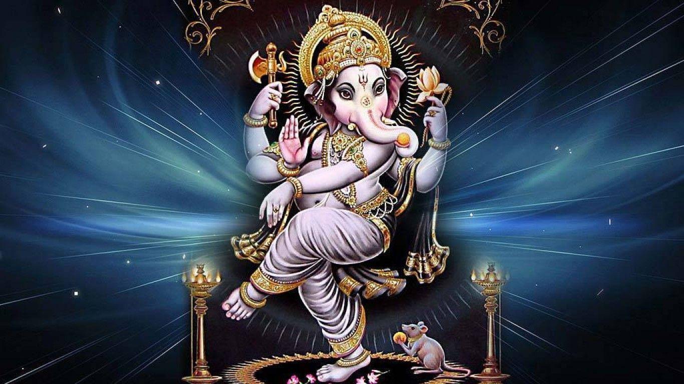 Ganesh Wallpaper Hd For Mobile Free Download God Hd - Dancing Ganesha - HD Wallpaper