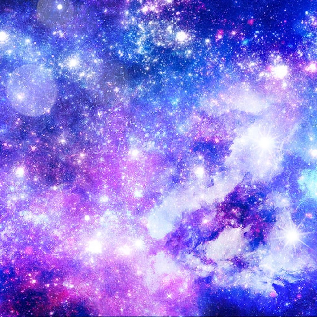 Free Galaxy Background 💜🥰 - Aesthetic Galaxy Background - HD Wallpaper
