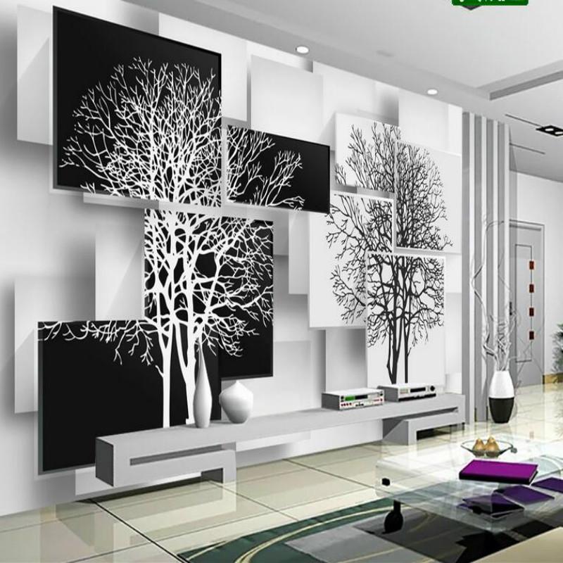 43 439591 desain wallpaper dinding ruang tamu papel de parede