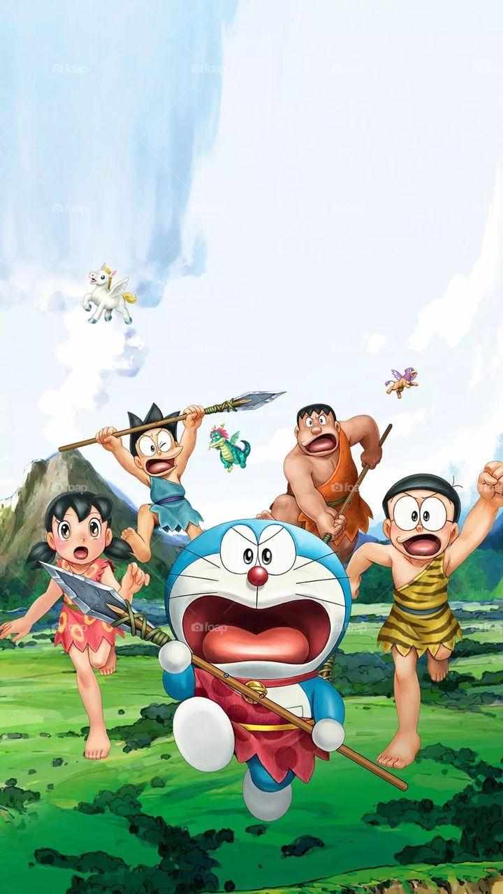 Doraemon - HD Wallpaper