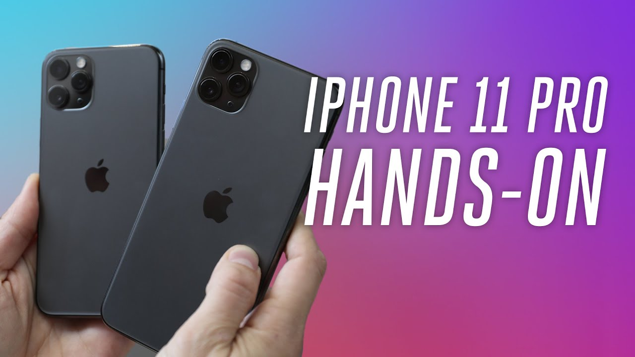 Iphone 11 Pro Max On Hand - HD Wallpaper