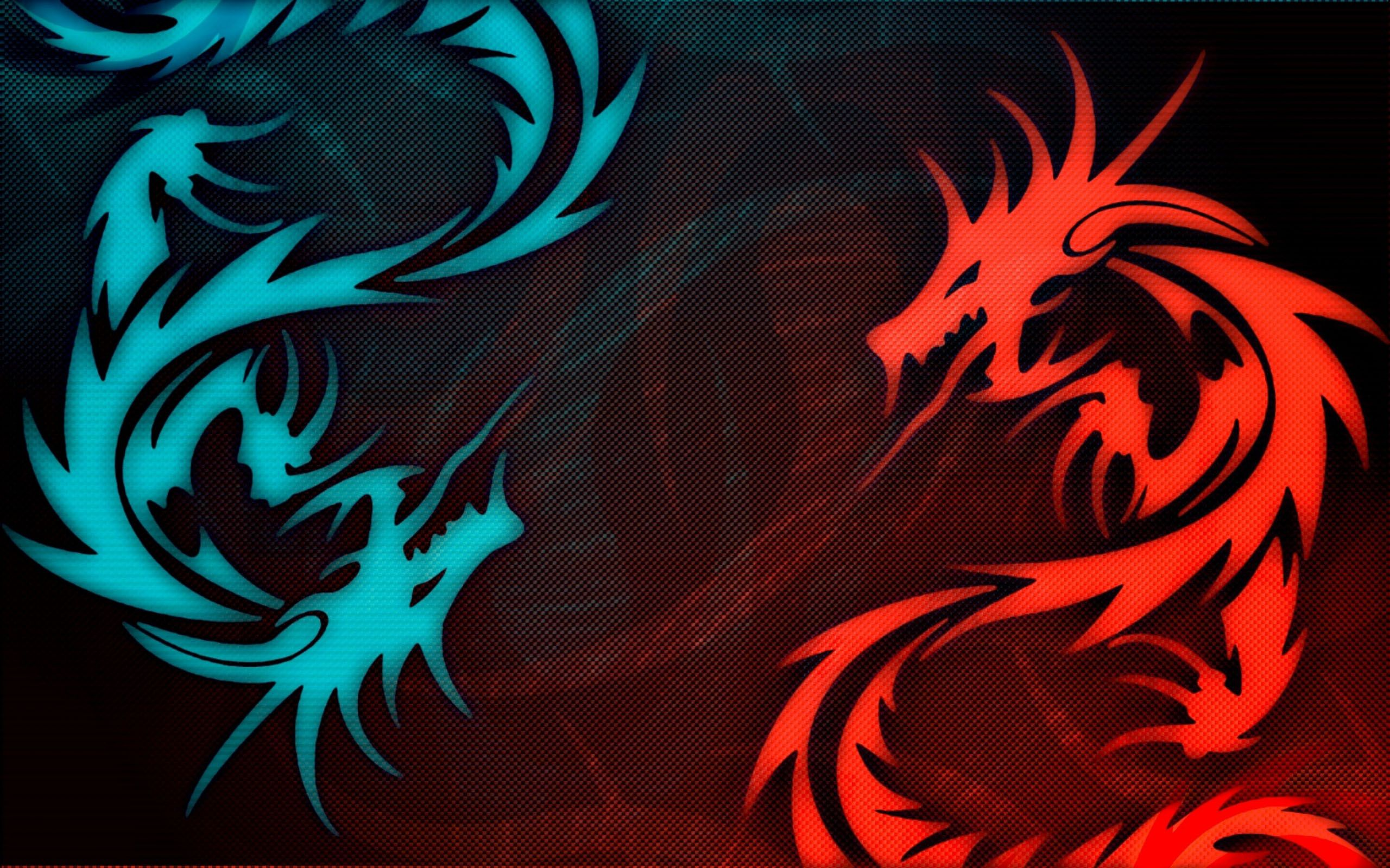 44 445254 black red dragon hd wallpapers blue and red