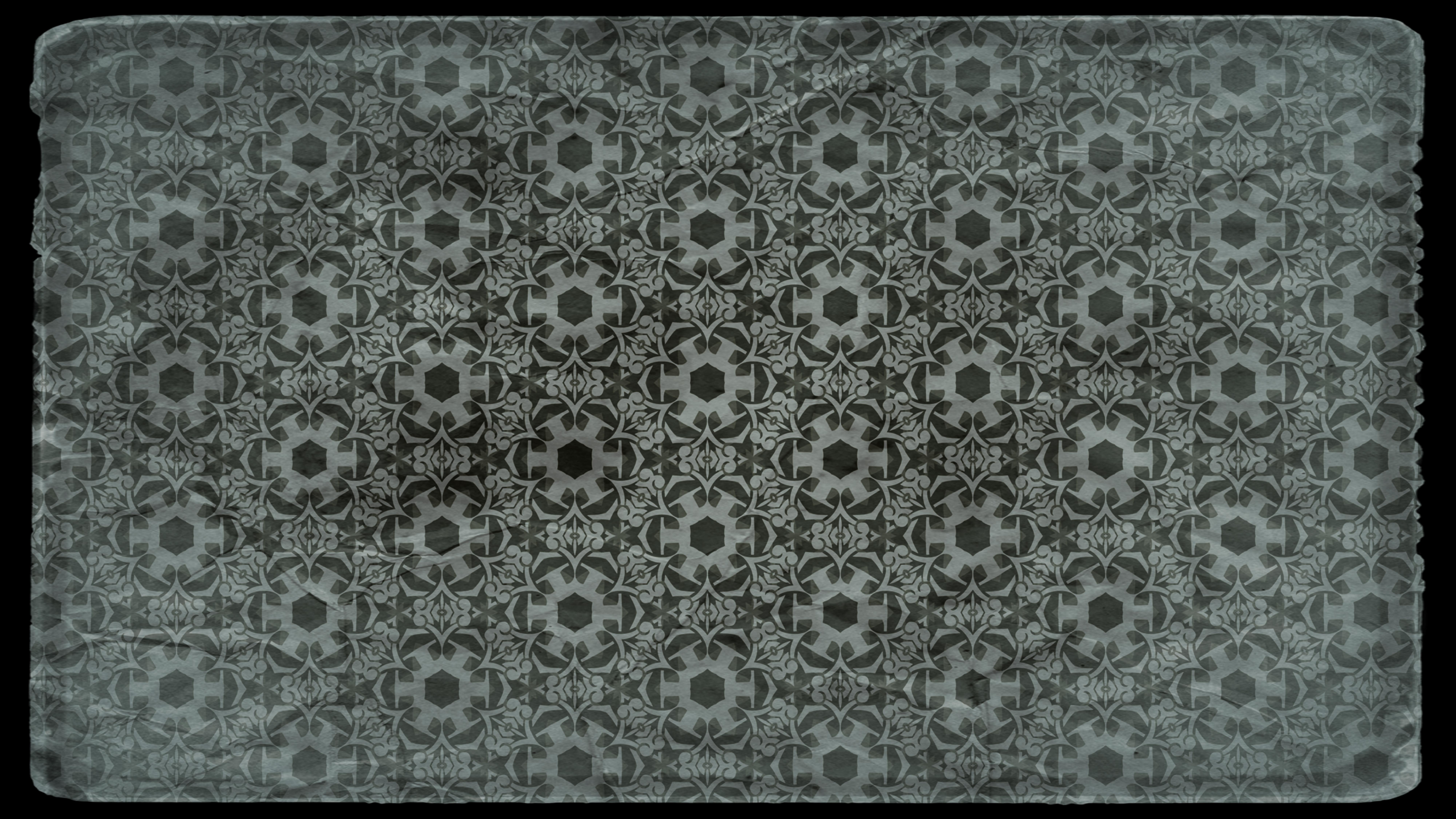 Dark Color Vintage Seamless Wallpaper Background - Wallpaper - HD Wallpaper