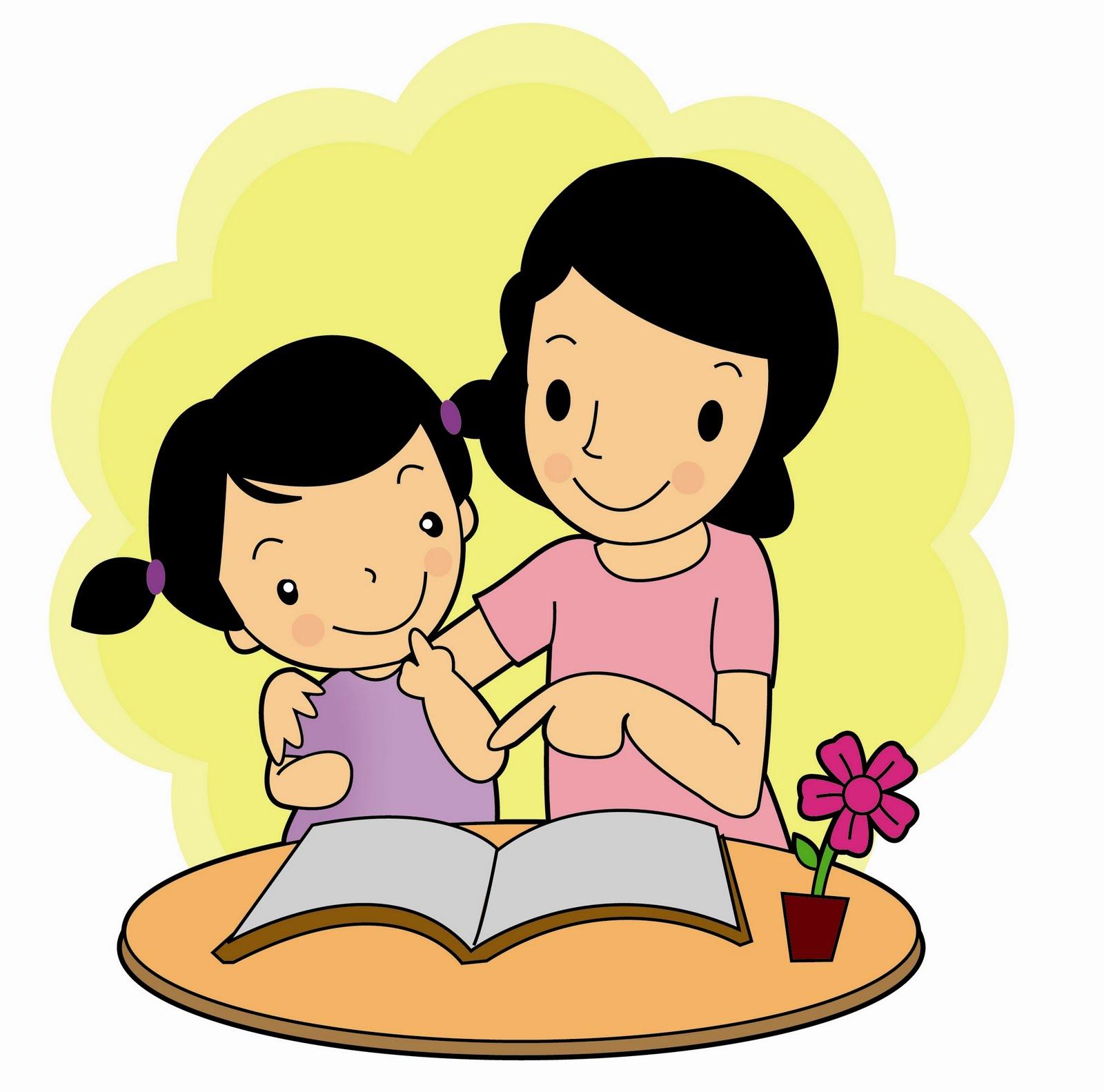 Foto Foto Kartun Lucu - Gambar Ibu Dan Anak - HD Wallpaper