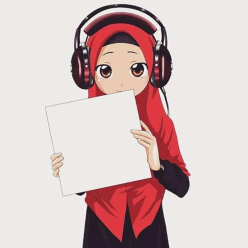 Kartun Muslimah Keren - HD Wallpaper