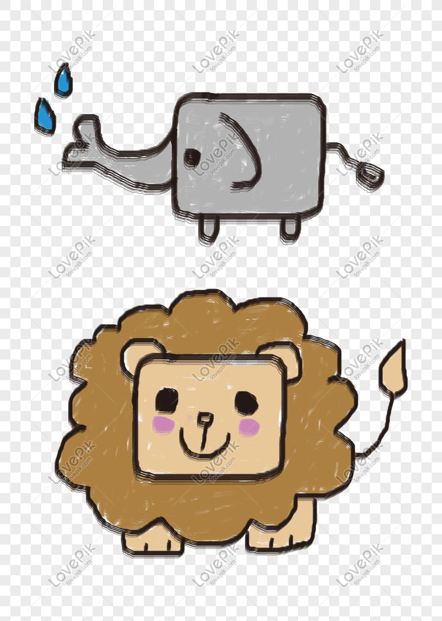 Bahan Png Hewan Kartun Lucu Yang Digambar Tangan Foto Kartun Lucu Yang Mudah Digambar 860x1209 Wallpaper Teahub Io