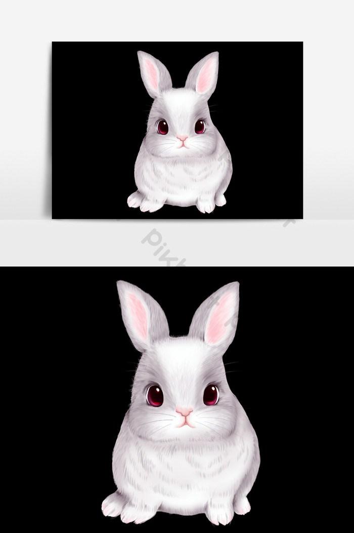 Gambar Kelinci Lucu Kartun - HD Wallpaper