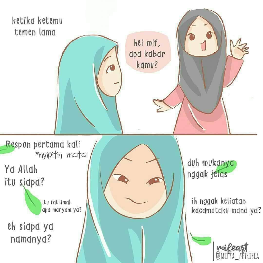Gambar Kartun Muslimah Lucu - HD Wallpaper
