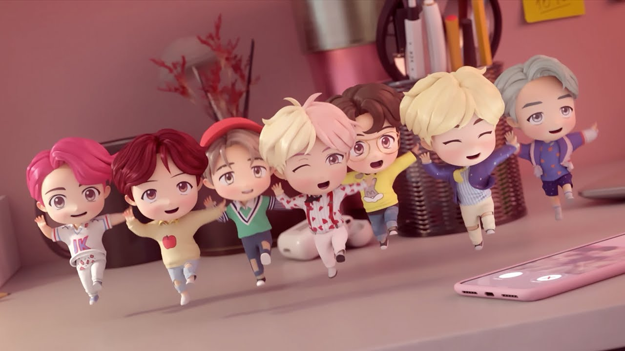 Bts The Cutest Boy Band In The World - HD Wallpaper
