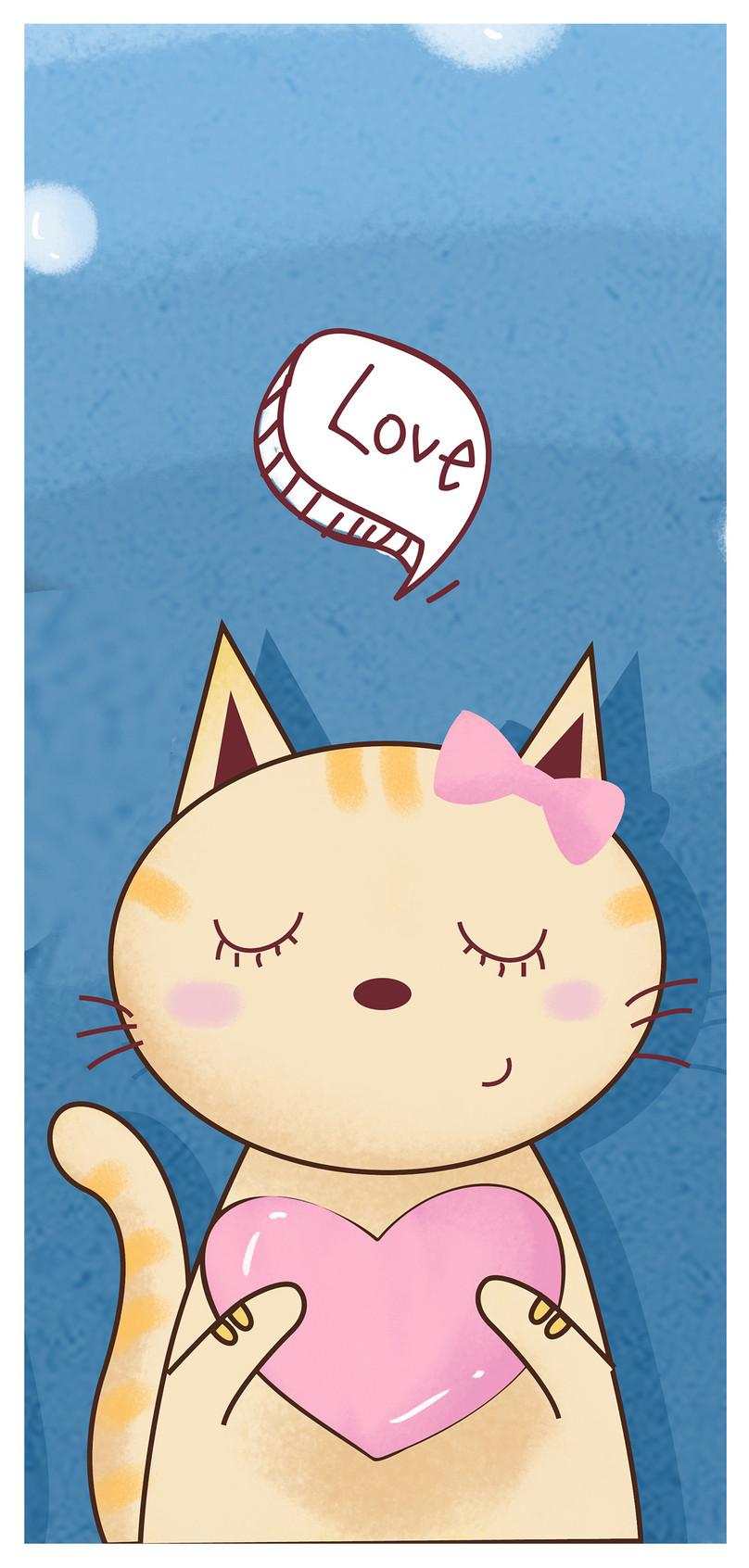 Wallpaper Ponsel Imut Yang Lucu - Cartoon - HD Wallpaper