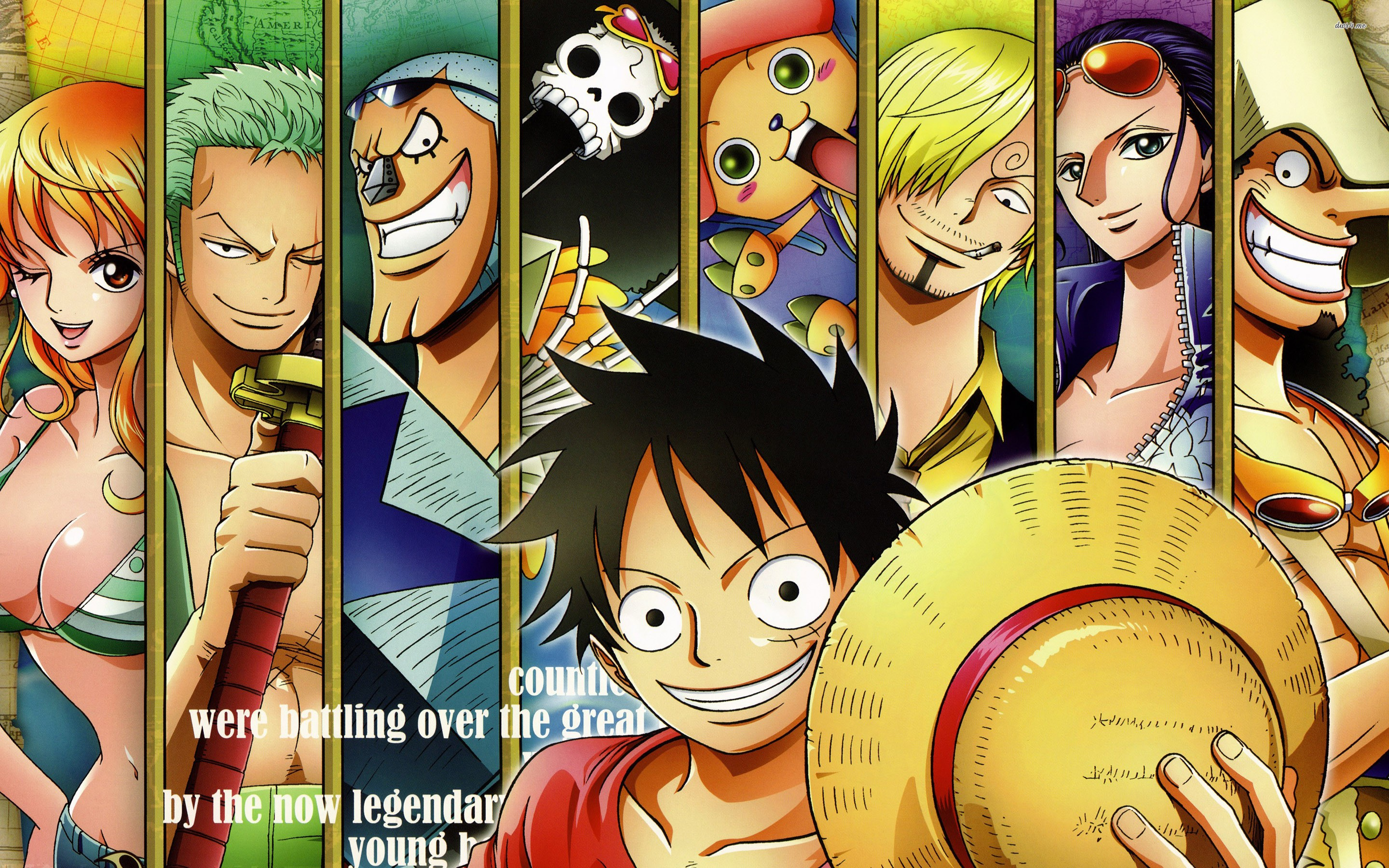 Wallpaper One Piece New World Anime Hd Cool Download - New World One Piece Wallpaper Hd - HD Wallpaper