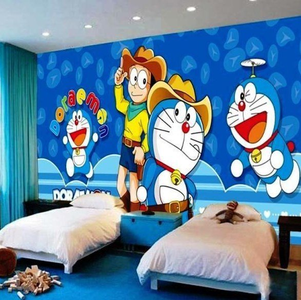 Bedroom Wall Design Paint - HD Wallpaper