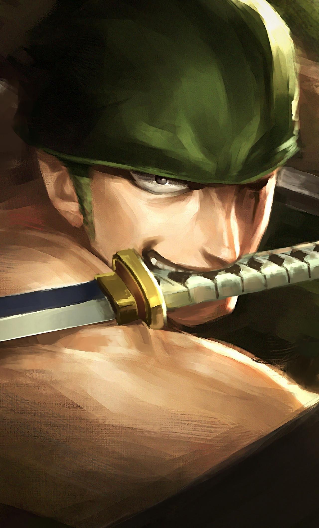 Artwork Warrior Roronoa Zoro One Piece Wallpaper Iphone One Piece Zoro 1280x2120 Wallpaper Teahub Io