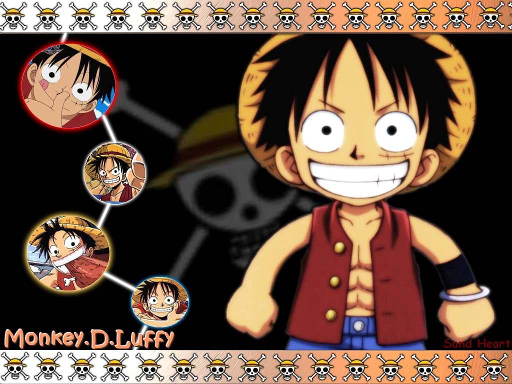 One Piece Luffy - HD Wallpaper