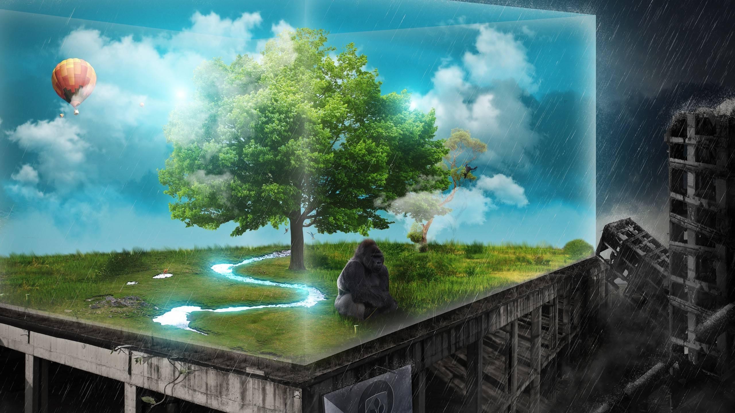 Full Hd Sad Nature Hd - HD Wallpaper