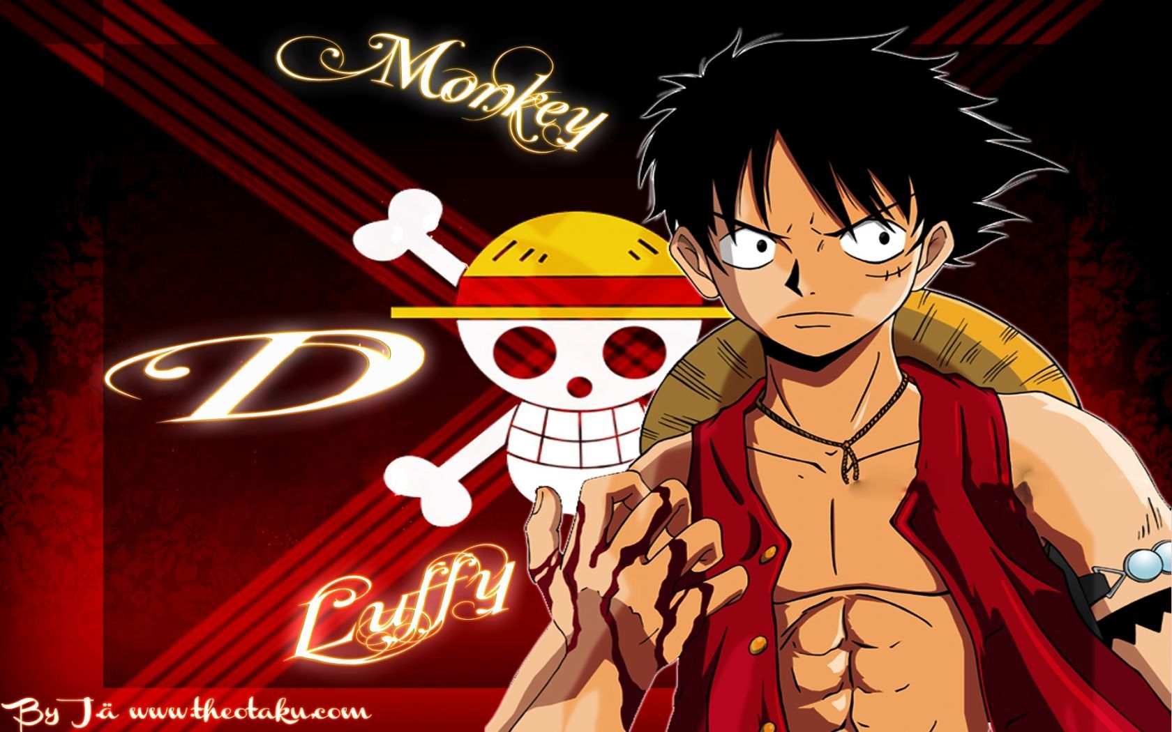 One Piece Luffy Wallpapers Full Hd One Piece Luffy 3d 1680x1050 Wallpaper Teahub Io