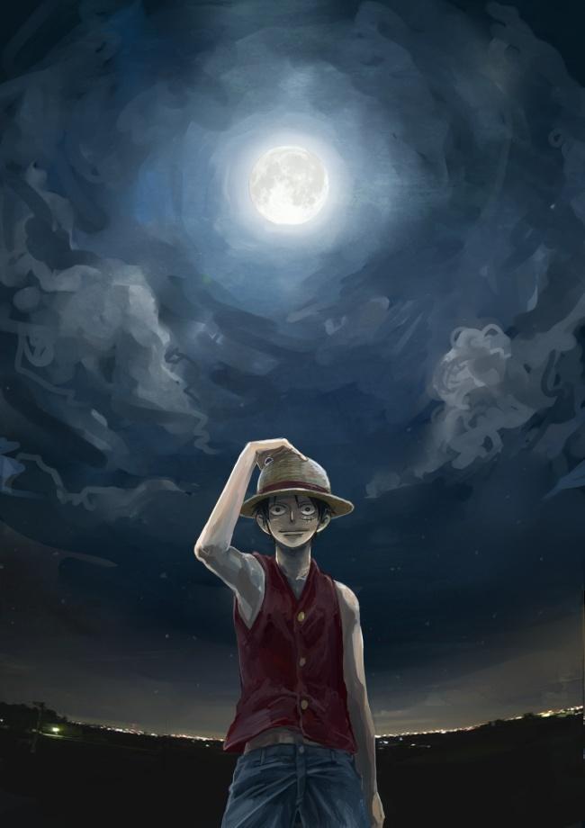 Anime, Crimson11, One Piece, Monkey D - Monkey D Luffy 3d - HD Wallpaper