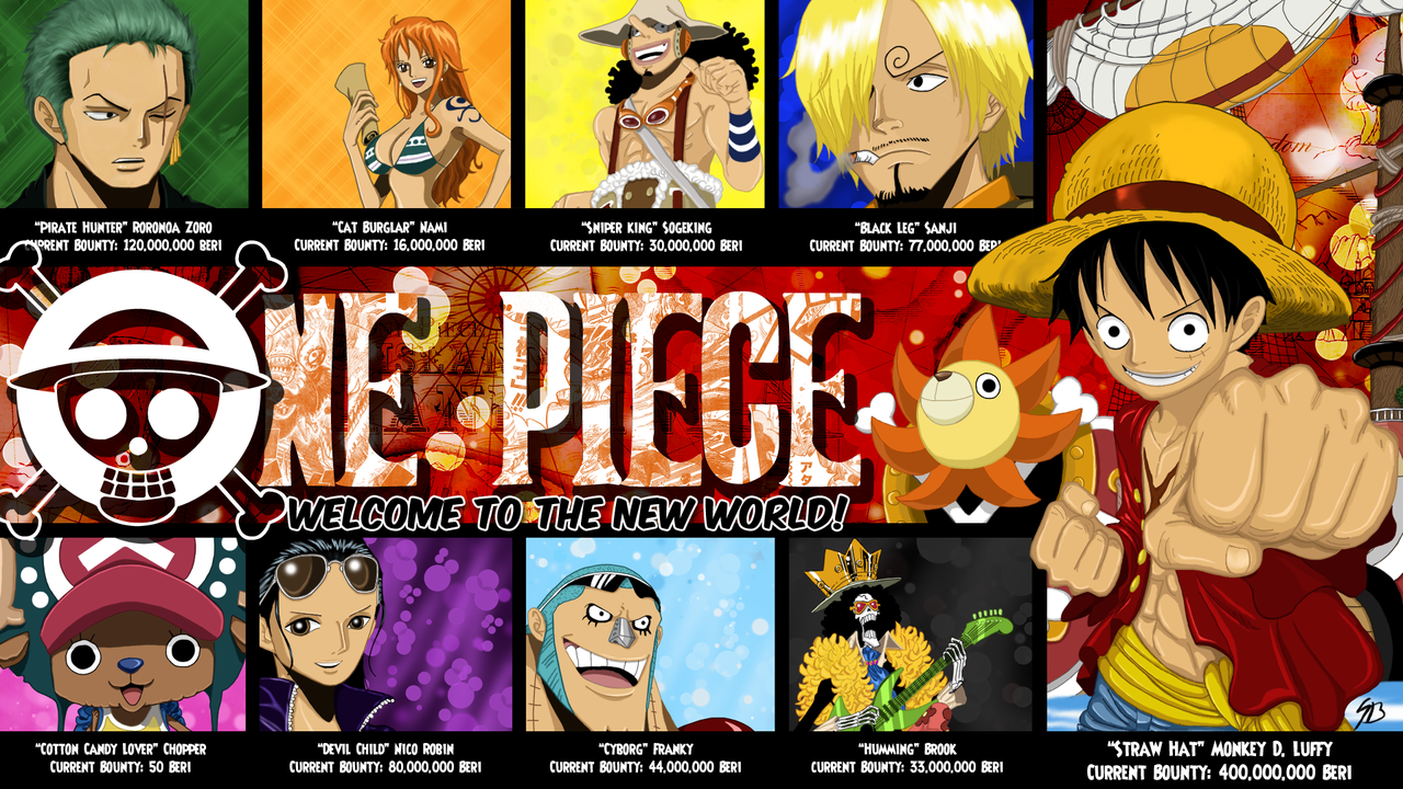 One Piece Live Wallpaper For Android Free Download - One Piece Anime New World - HD Wallpaper