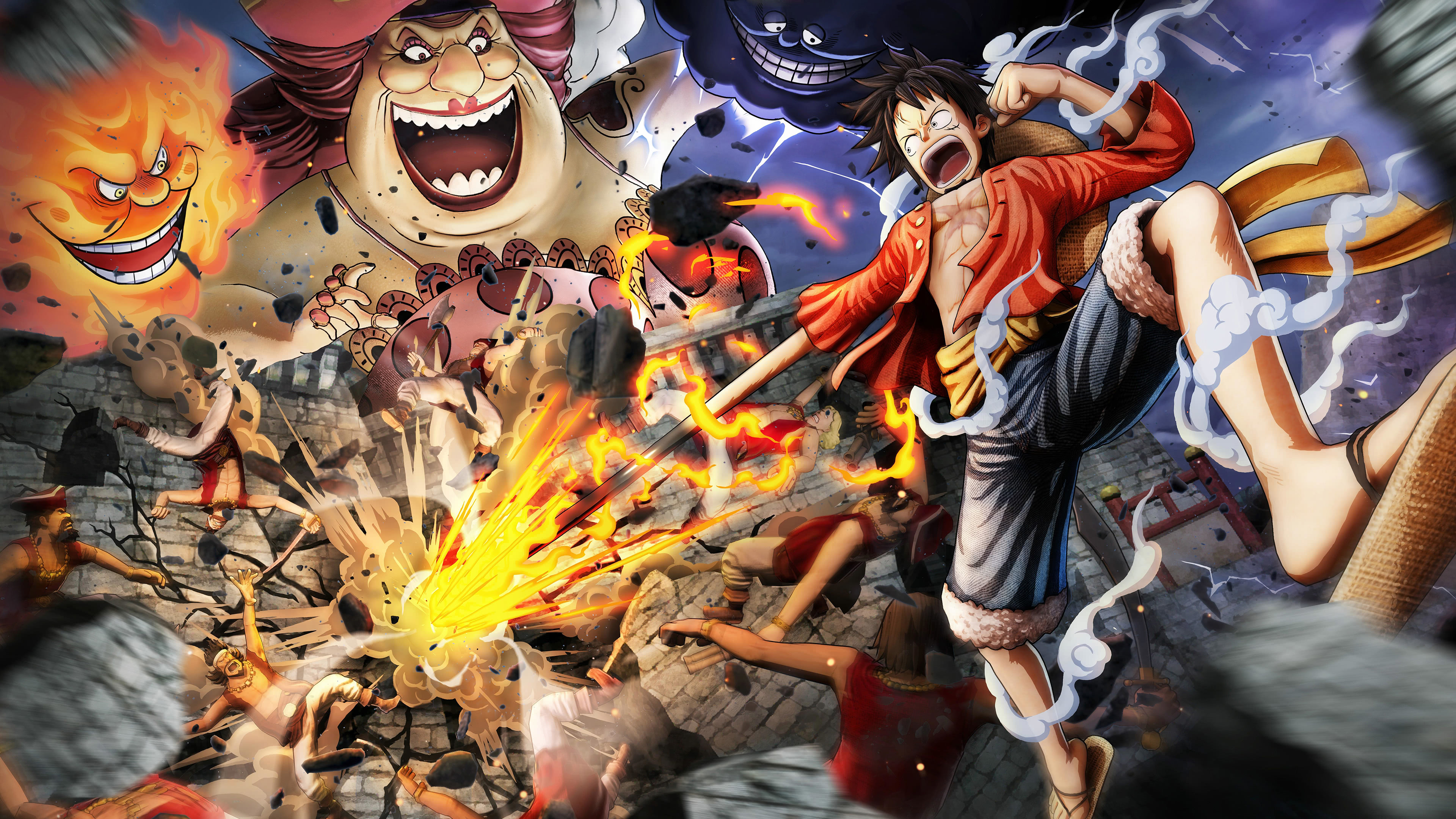 One Piece Pirate Warriors Uhd 4k Wallpaper One Piece Wallpaper 4k 3840x2160 Wallpaper Teahub Io