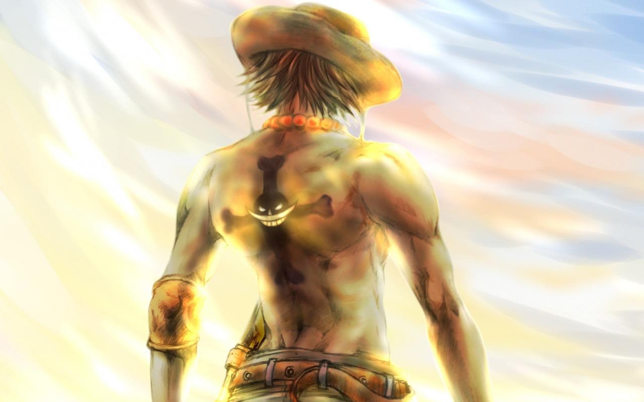 Anime, One Piece, Artwork, Portgas D - One Piece Ace Wallpaper For Desktop - HD Wallpaper