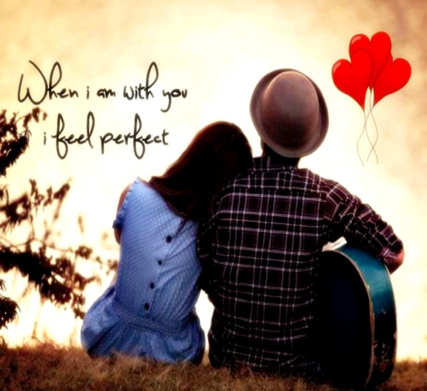 Cute Couple Wallpapers With Quotes Desktop Beautiful - Most Beautiful Romantic Couples - HD Wallpaper