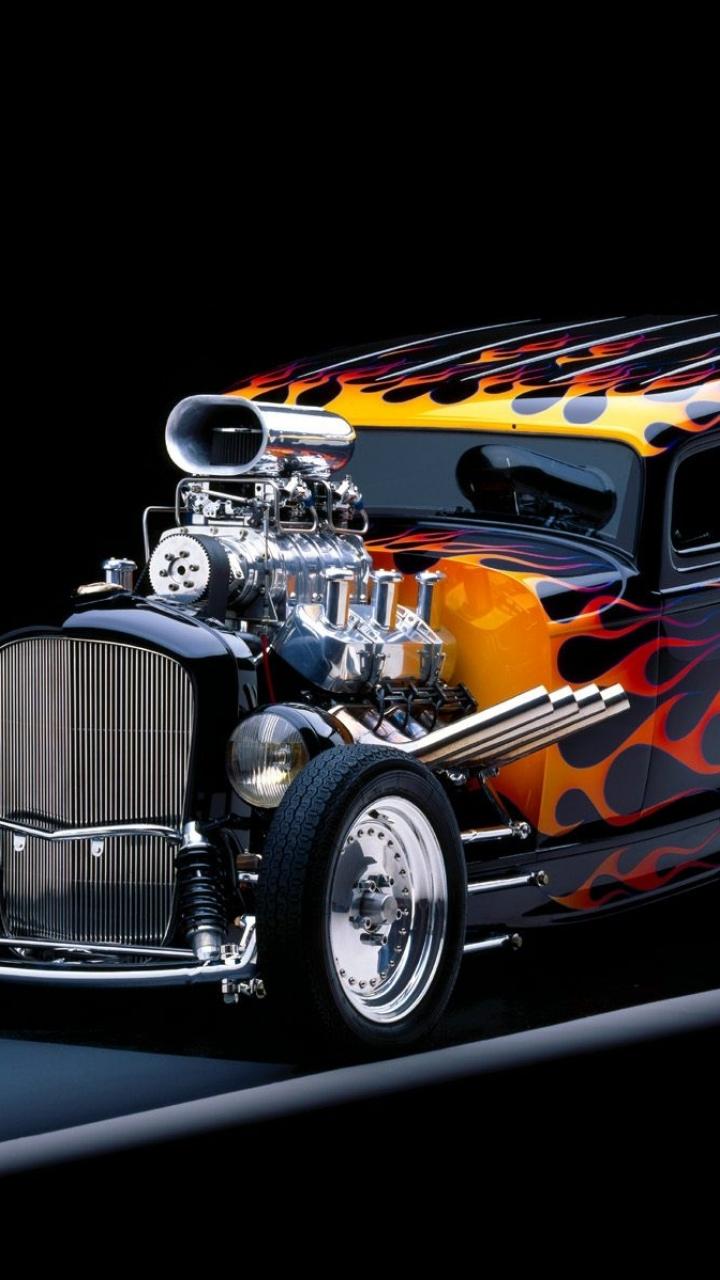 Hot Rod Flames Paint - HD Wallpaper