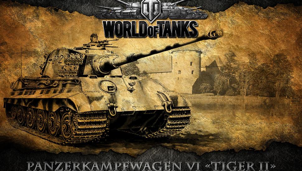 World Of Tanks, World Of Tanks, Tank, Tiger 2, King - King Tiger World Of Tanks - HD Wallpaper