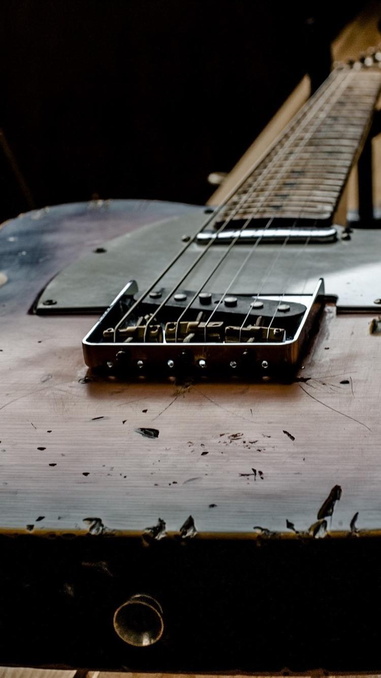 Iphone Wallpaper Old Guitar, Music - Old Guitar - HD Wallpaper