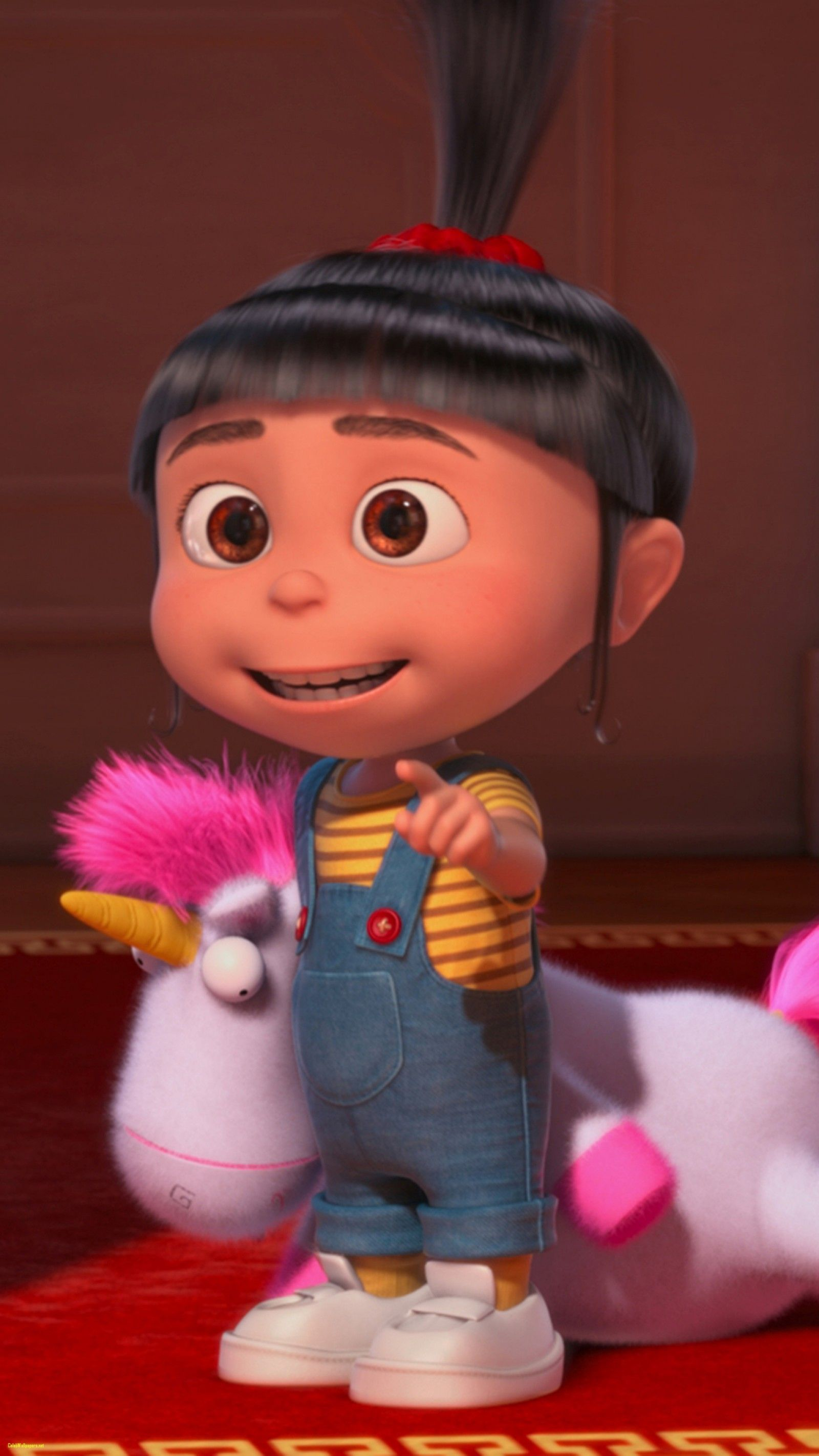 Agnes Despicable Me Lovely Iphone 7 Moviedespicable - Agnes Minion - HD Wallpaper