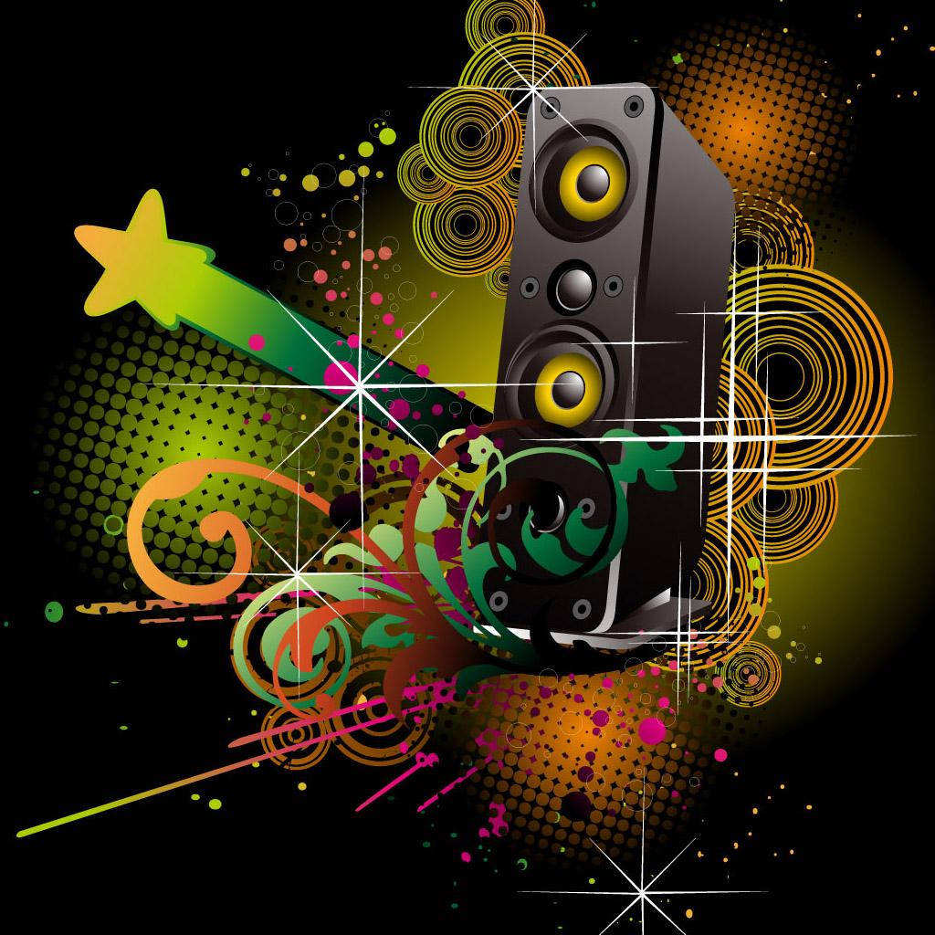Best Wallpaper In The World Free Download Wallpaper - Hd Music Ipad Background - HD Wallpaper