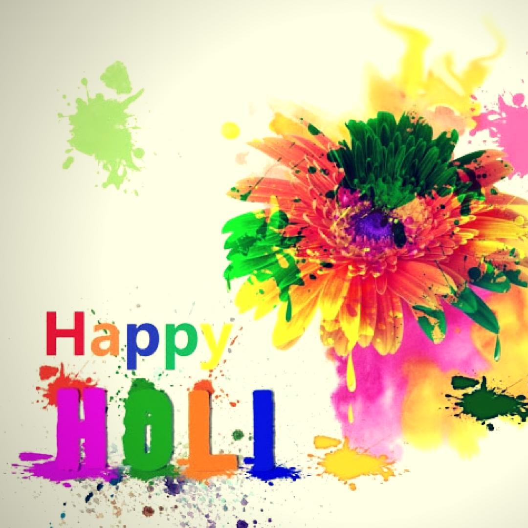 Wish Diwali Wallpaper Desktop Holi Happy Clipart - Happy Holi Radha Krishna - HD Wallpaper
