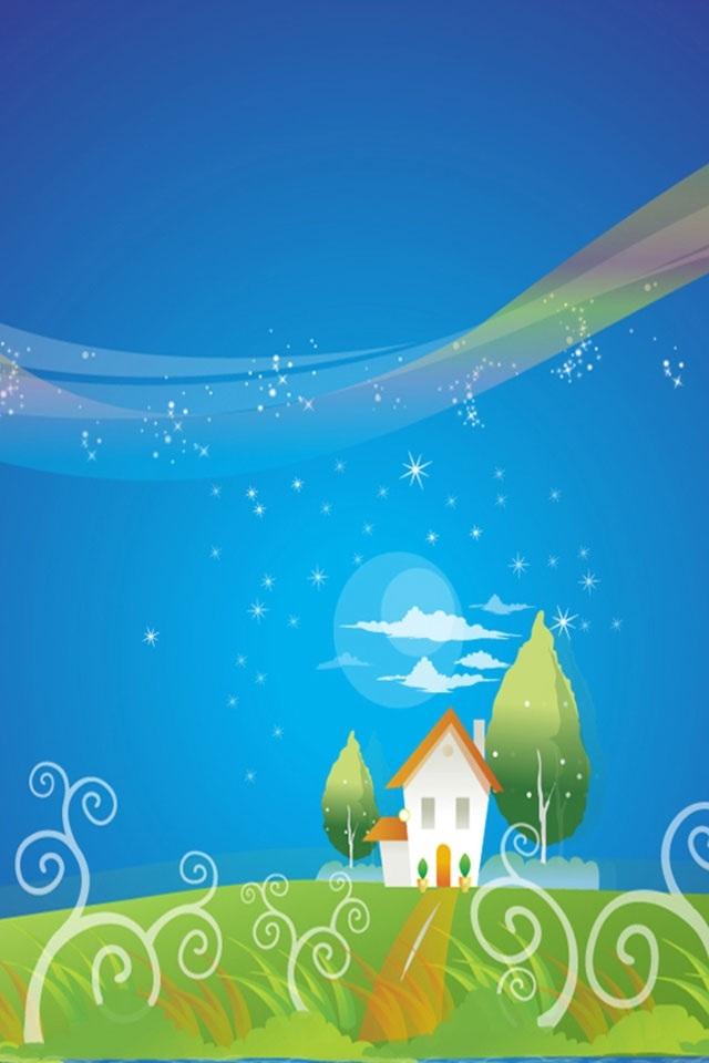 Hd Beautiful Dream World Iphone 4 Wallpapers - Best Wallpaper Of The World - HD Wallpaper