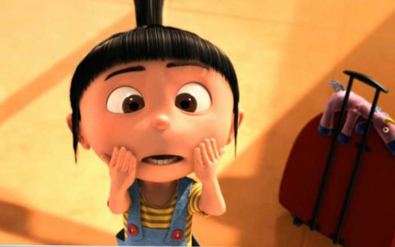 175 Despicable Me Hd Wallpapers Backgrounds - Cartoon Characters With Short Black Hair And Bangs - HD Wallpaper