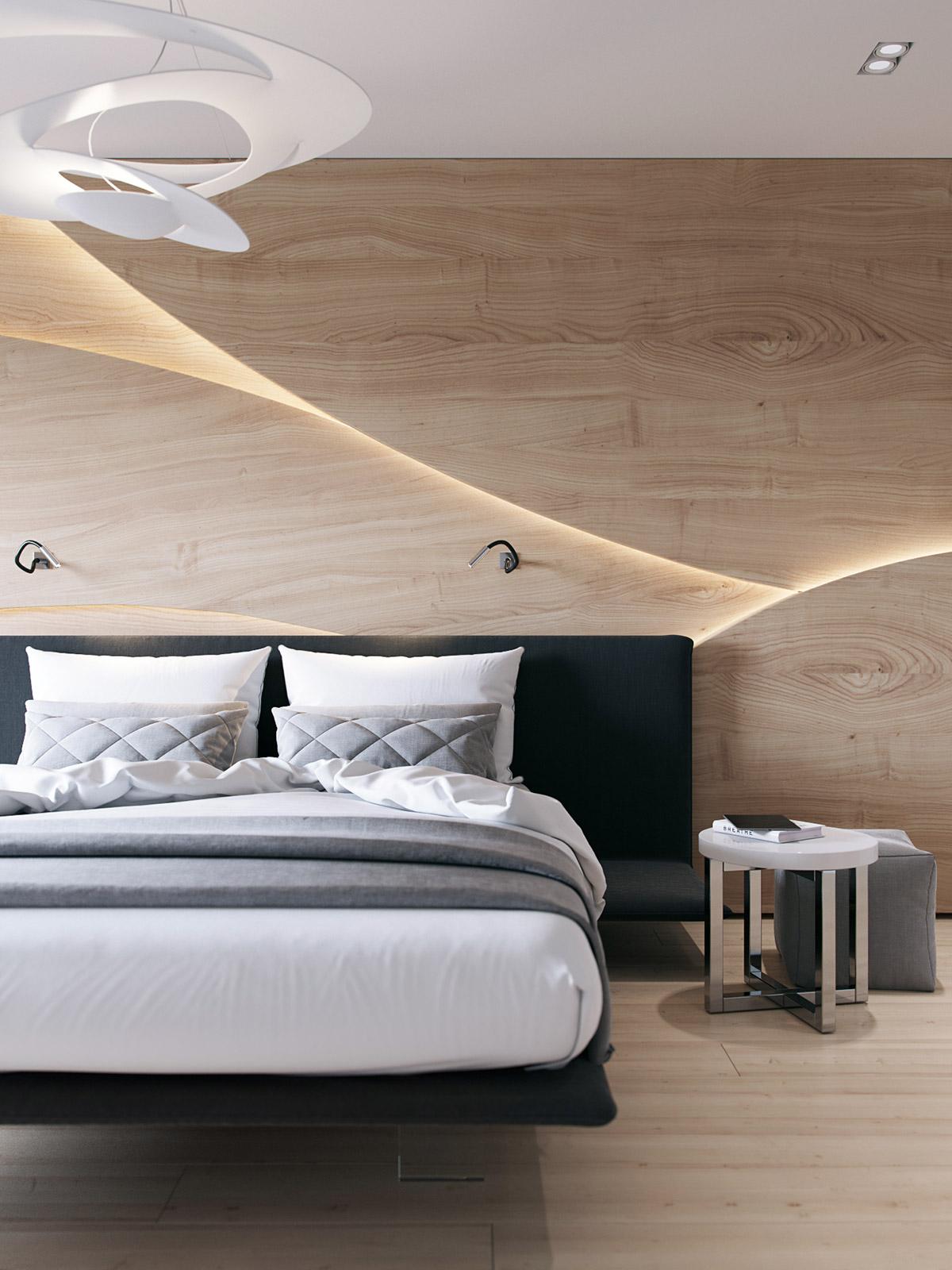 Home Bedroom Wall Design - HD Wallpaper