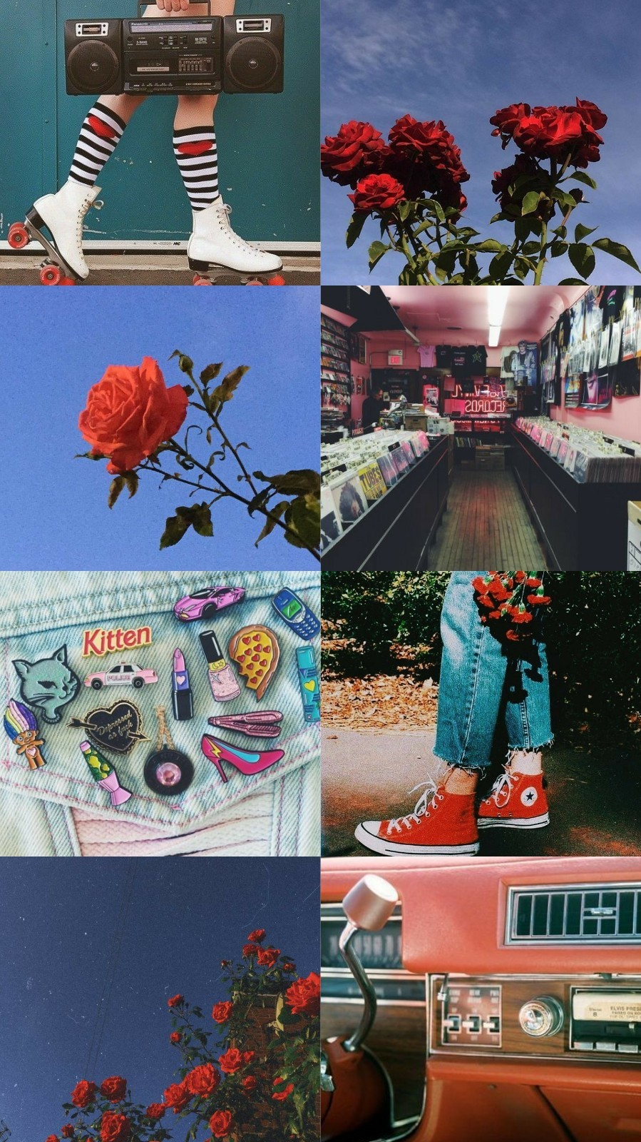 Vintage With Roses Aesthetic 🌹 @ellekmsn Asked - Retro Vintage Aesthetic Backgrounds - HD Wallpaper