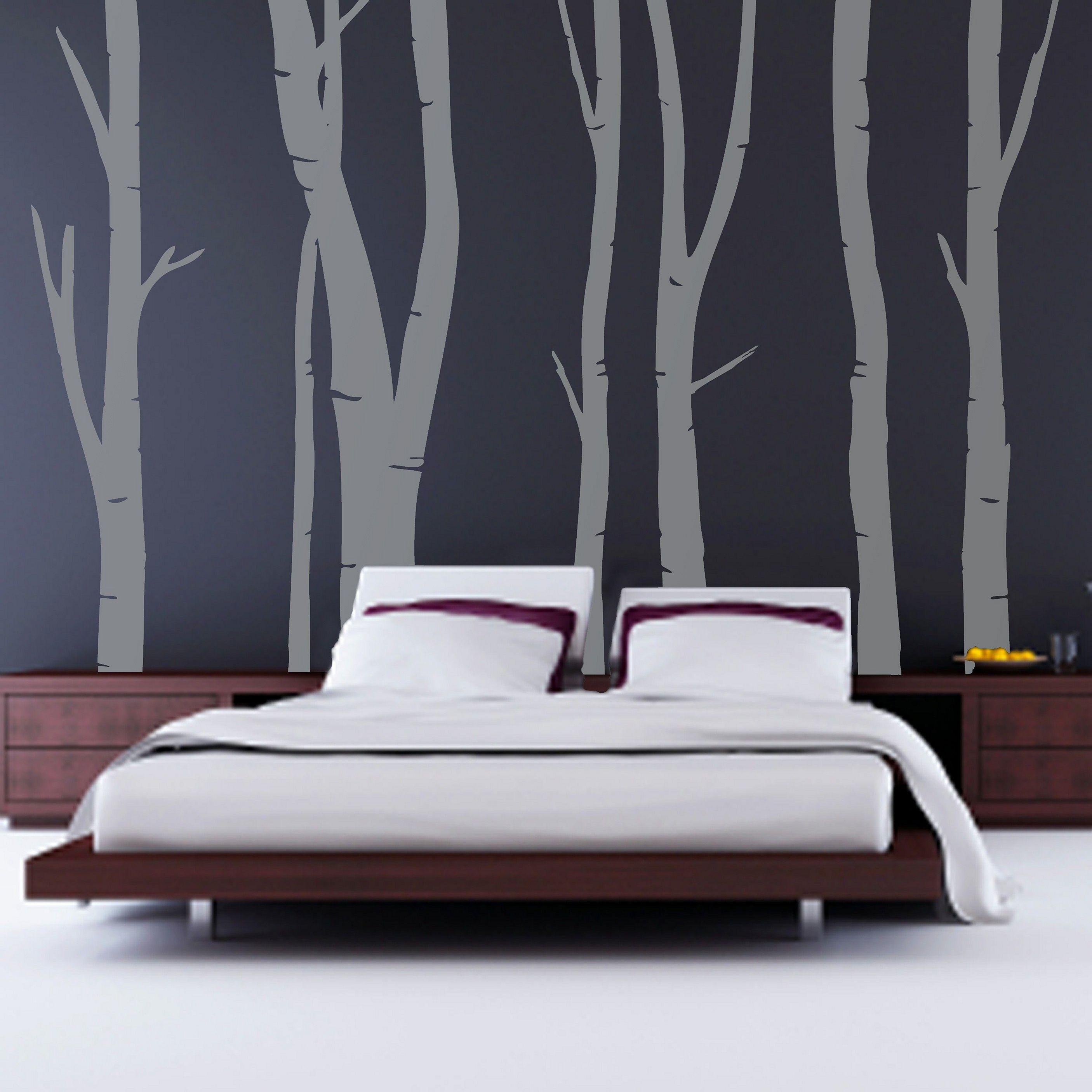 Cool Bedroom Wall Designs - HD Wallpaper