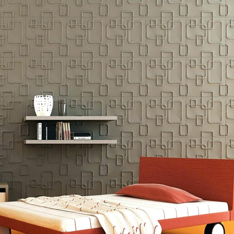 Pictures For Bedroom Walls Wall Designs Bedroom Plant - Fiber Sheet For Wall - HD Wallpaper