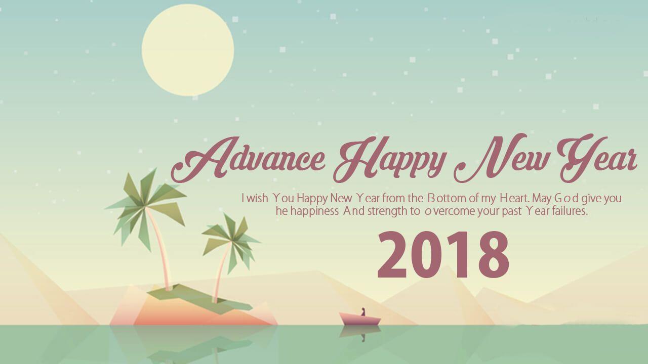 Wish You Happy New Year 2018 - HD Wallpaper