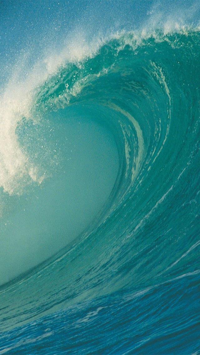 Ocean Wave Iphone Wallpaper - Iphone Wallpapers Ocean Wave - HD Wallpaper
