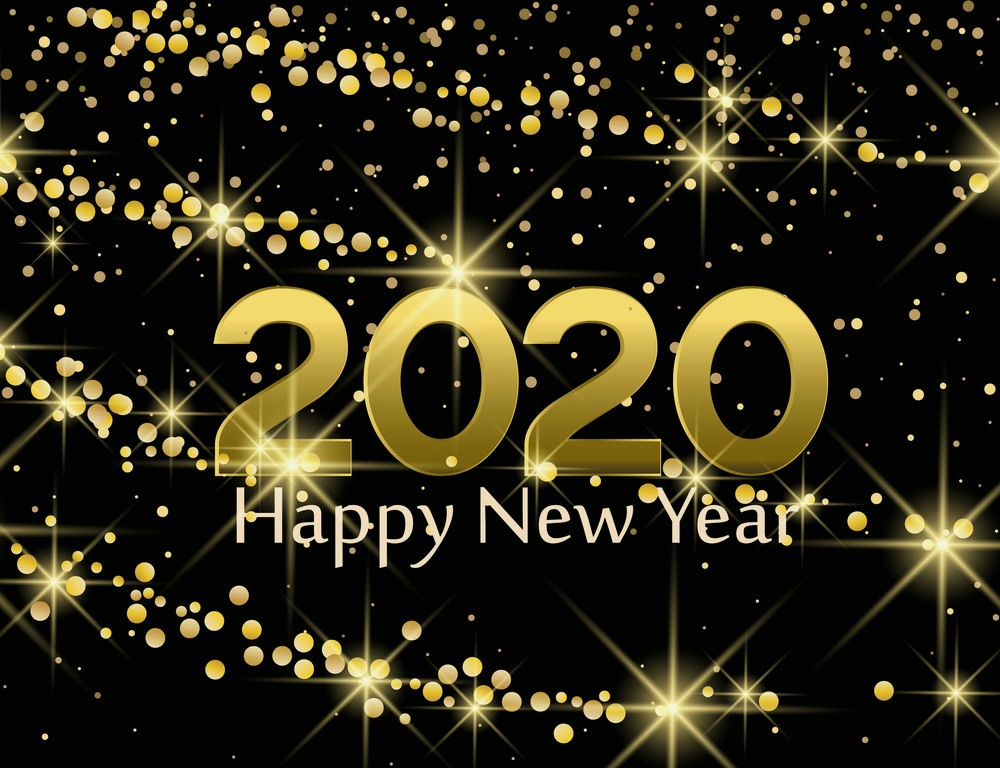 Most Beautiful Happy New Year 2020 Wallpapers Card - New Years Eve Party 2020 - HD Wallpaper