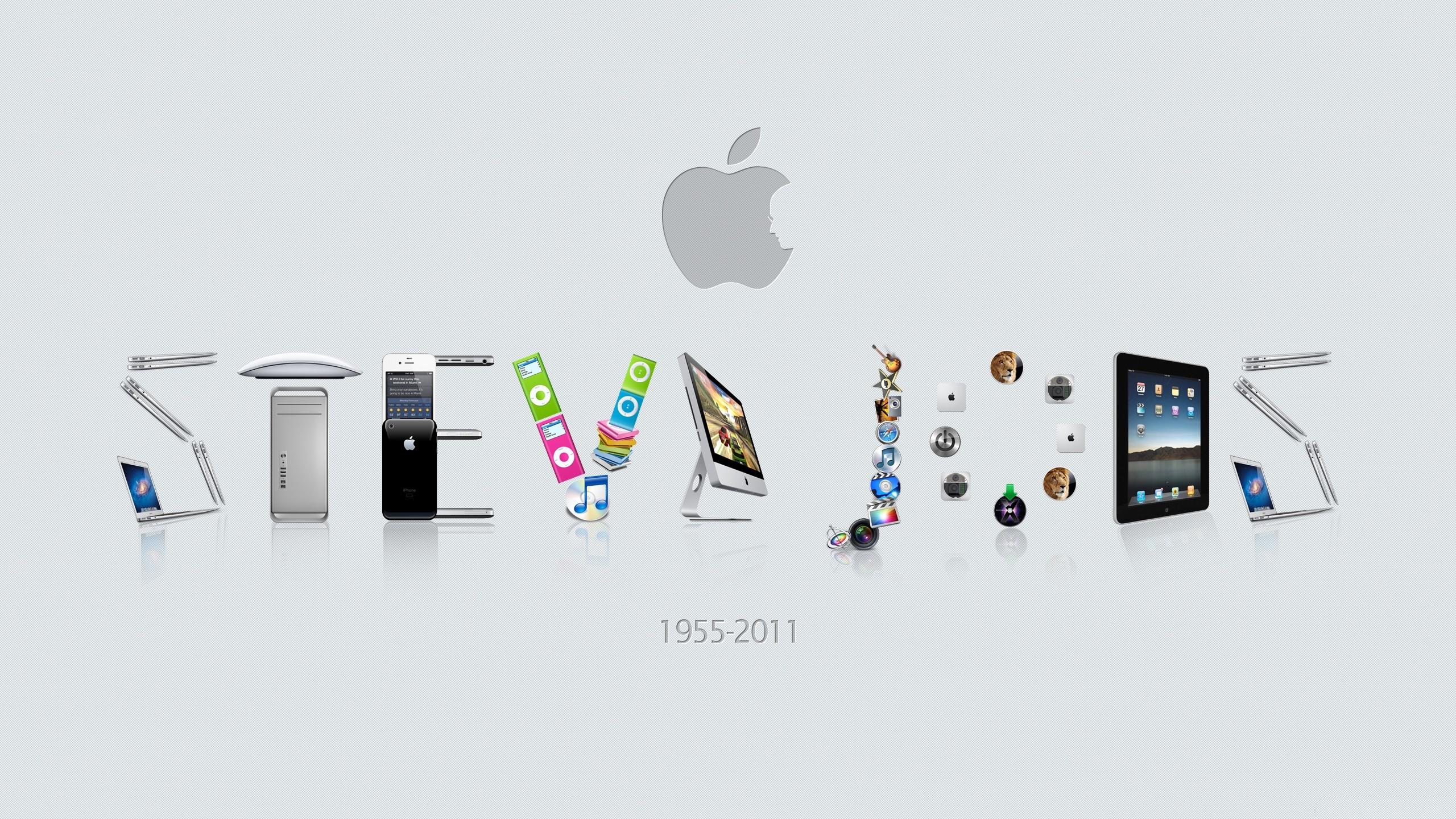 Steve Jobs Apple Background - HD Wallpaper