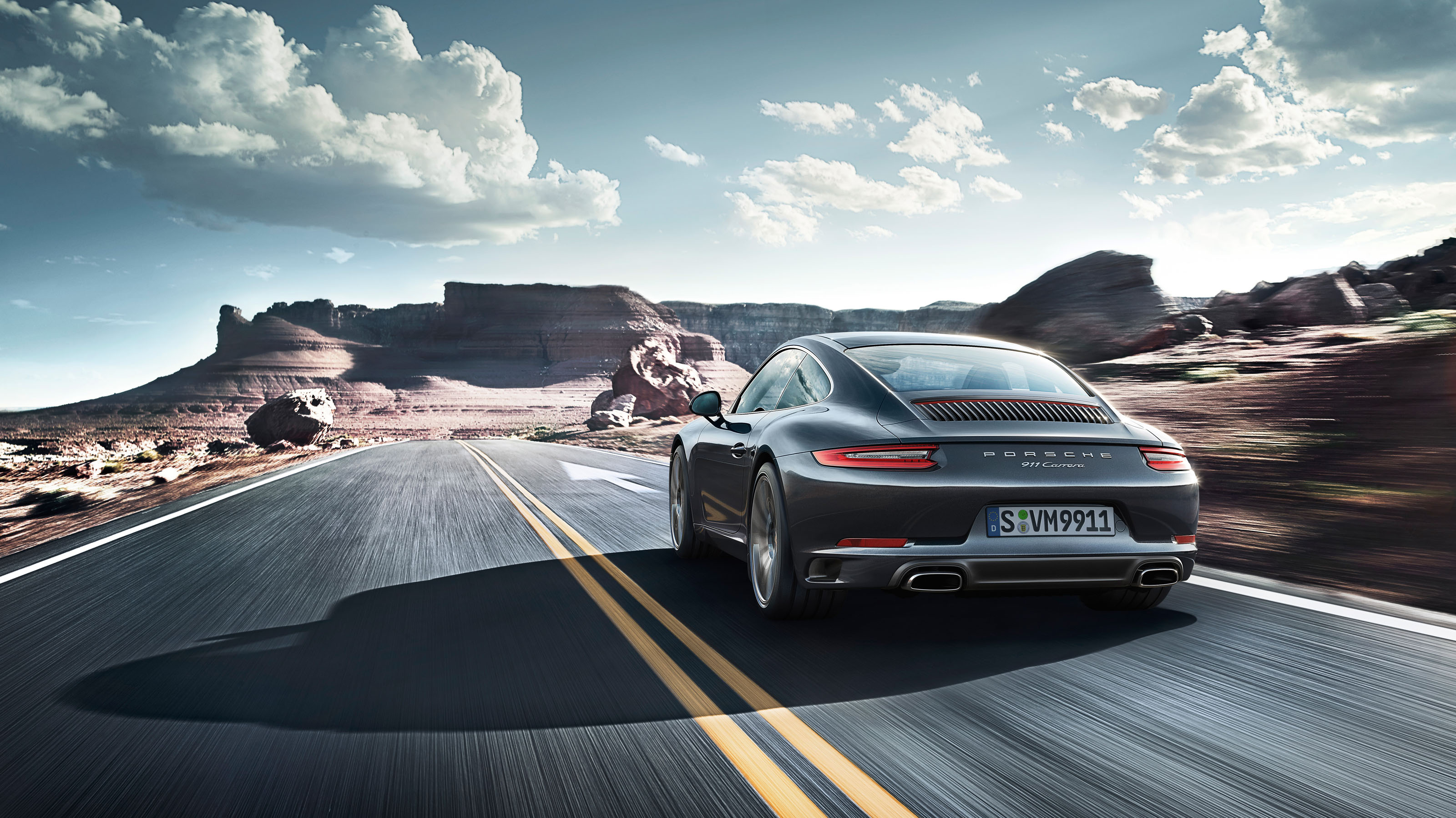 Porsche 911 Carrera 4k - HD Wallpaper