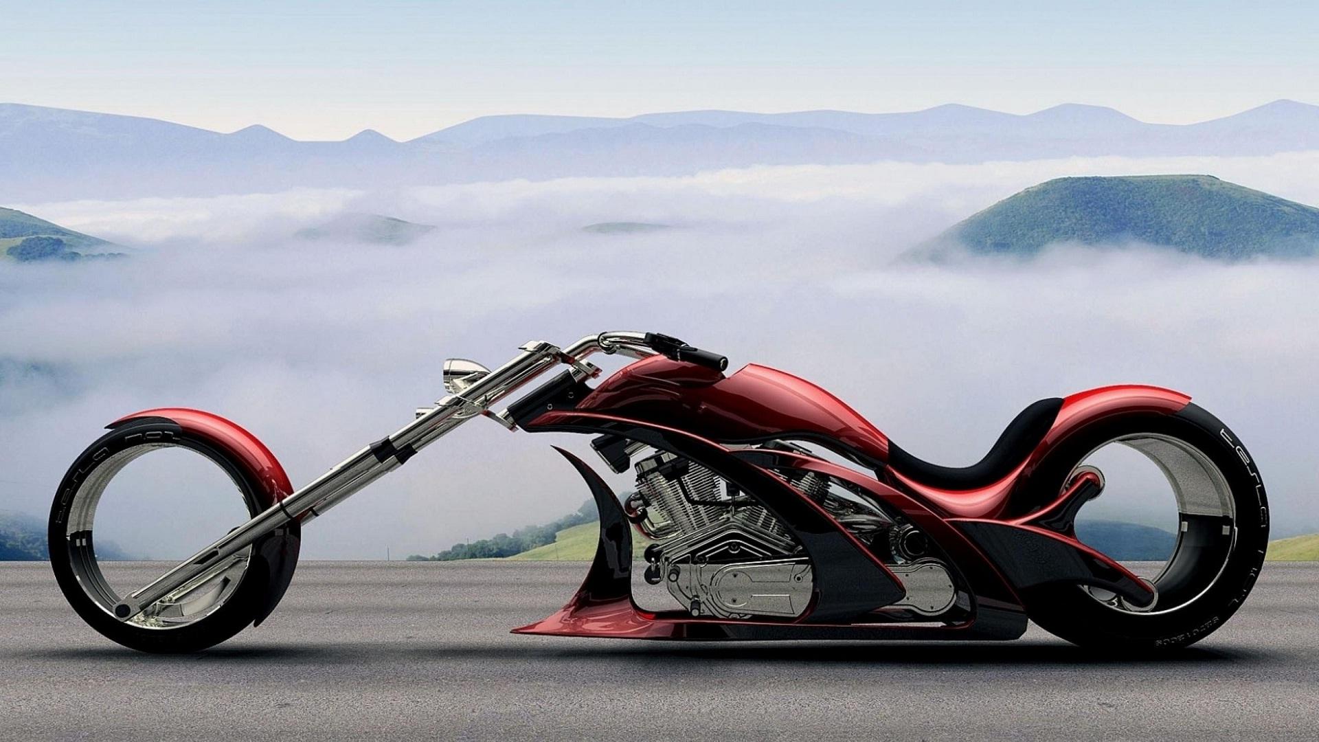 Chopper Bike Awesome Full Hd Wide Wallpapers Hd Wallpapers - Lamborghini Motorcycle - HD Wallpaper