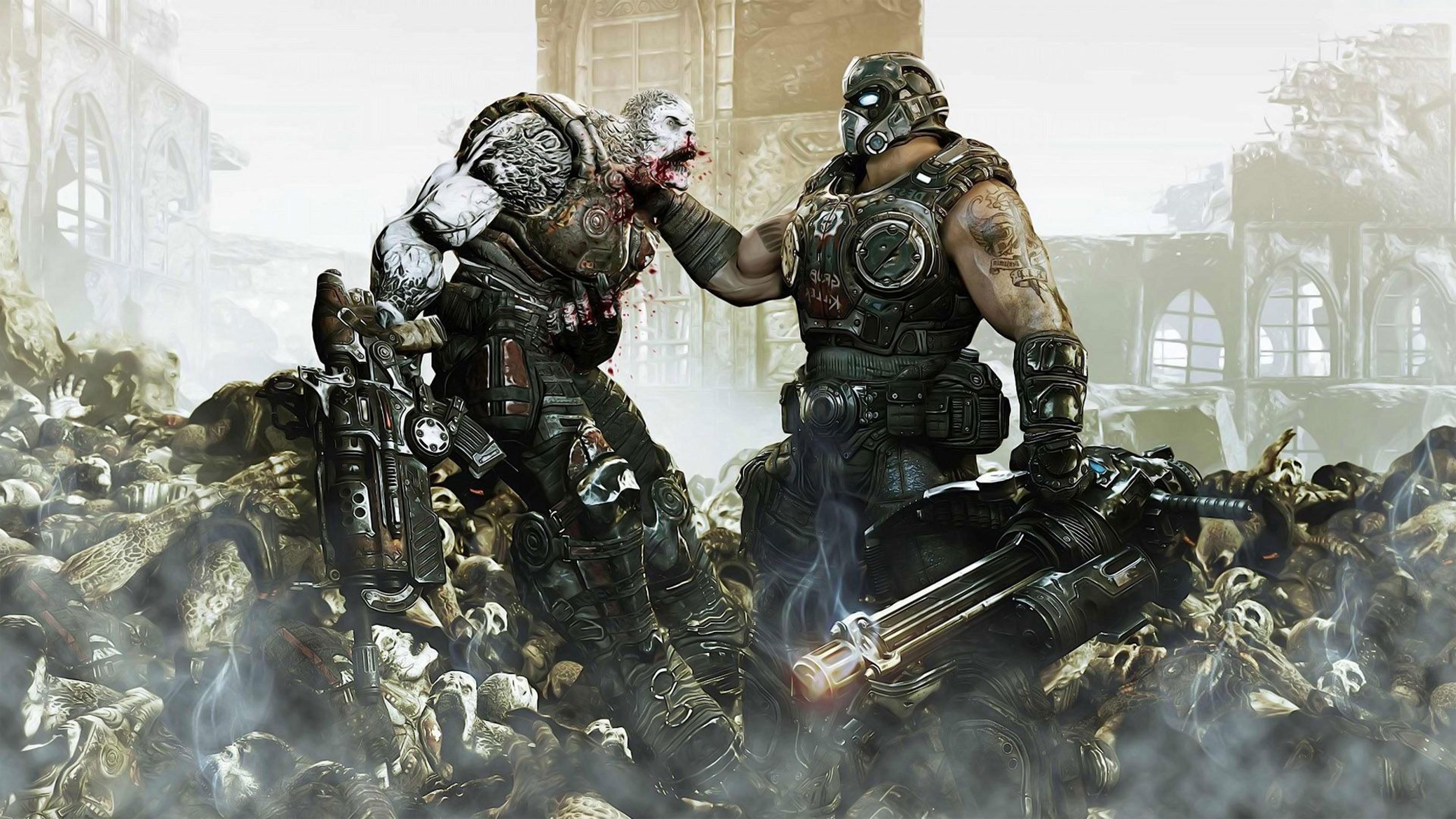 Gears Of War 4 Art - HD Wallpaper