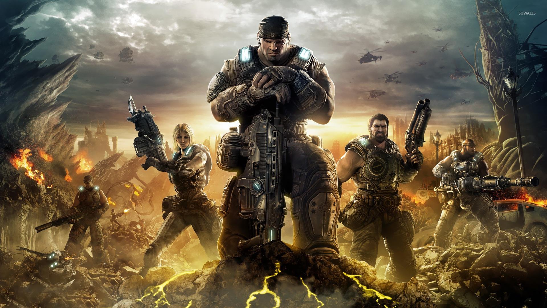 Gears Of War Hd Wallpaper 1080p - HD Wallpaper