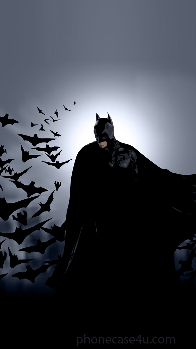 Batman Wallpaper Iphone 750x1334 Wallpaper Teahub Io